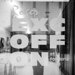 Roger Excoffon et la fonderie Olive